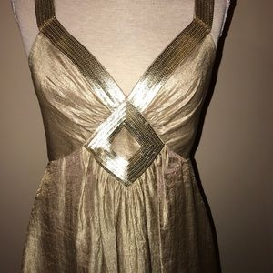 Dress Gold Bubble